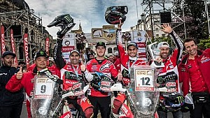 Monster Energy Honda team Ruta402017 HD