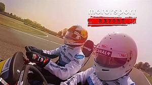Daniel Ricciardo testet eigenes Kart