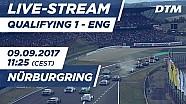 Live: Qualifiche (Gara 1) - DTM Nürburgring 2017