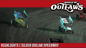 World of Outlaws Craftsmansprint cars Silver Dollar speedway September 9, 2017 | Highlights