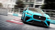 Der elektrische Jaguar-Markenpokal