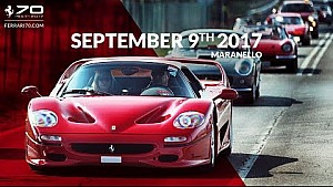 70 years celebrations - Maranello, September 9th 2017
