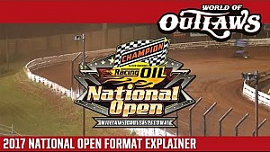 2017 champion racing Oil National open format explainer
