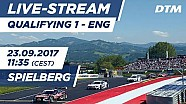 Live: Qualifying (Race 1) - DTM Spielberg 2017