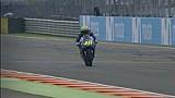 Lebih dekat dengan kaki Rossi yang cedera saat mengerem