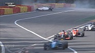 Harde crash Gilles Magnus op Spa-Francorchamps