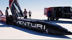 La tentative de record de vitesse du prototype Venturi VBB-3