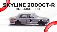 Nissan Skyline 2000 GT-R (1969): Onboard @ Fuji