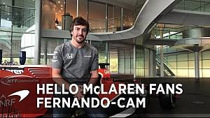 Alonso bedankt fans voor steun tijdens moeilijk seizoen
