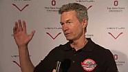 Pilot Roger Schroer bei der Venturi VBB-3 Präsentation