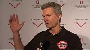 Le pilote Roger Schroer à la présentation Venturi VBB-3
