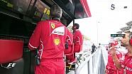 2017 Malezya GP - Vettel'in Ferrari'sini Hatchback'a Çevirdiği Yarış Sonu Kazası