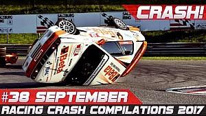 Racing crash compilation week 38 September 2017