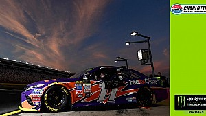 Hamlin on winning pole at Charlotte to keep streak alive