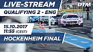 2. Yarış sıralama turları - DTM Hockenheim Final 2017