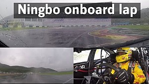 Ronde onboard Tom Coronel op Ningbo circuit China