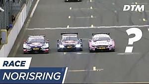 Тройной финиш во второй гонке DTM на Норисринге