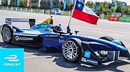 Formula E comes to Chile! Santiago street demo with Eliseo Salazar