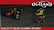 World of Outlaws Craftsman sprint cars Salina Highbanks speedway October 21, 2017 | Highlights