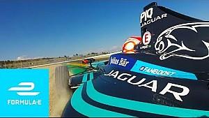 Multi-angle onboards! Formula E Valencia testing