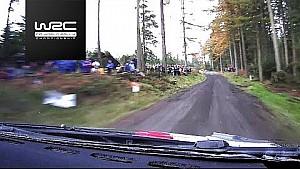 Rally GB 2017: Shakedown onboard Elfyn Evans