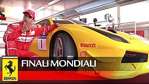 Finali Mondiali 2017 - Marc Gené and 488 Challenge tyres