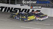 'Yep, he definitely wrecked me': Martinsville playoff scanner sounds