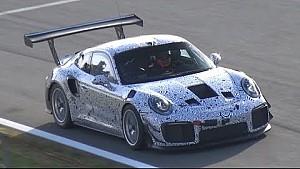 Mysterieuze Porsche 911 gespot op Monza