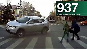 Recopilación de accidentes de coche 937 - noviembre de 2017