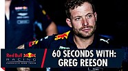 60 ثانية مع تقني مرآب ريد بُل في الفورمولا واحد غريغ ريسون