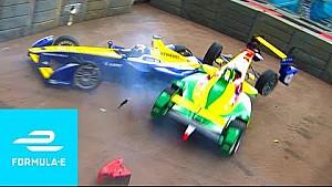 First lap crash! London E-Prix 2016 (Season 2 - race 10) - Full race