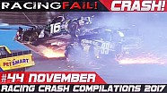 Racing crash compilation week 44 November 2017 | Racingfail