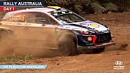 Rally Australia day one - Hyundai Motorsport 2017
