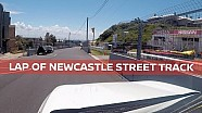 Newcastle street circuit taking shape