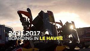 Le Havre… already the Dakar 2018