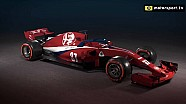 What could an Alfa Romeo F1 car look like?