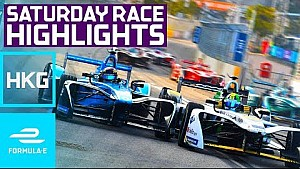 HKT Hong Kong E-Prix Saturday Highlights - Formula E