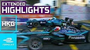 2017 HKT Hong Kong E-Prix (round 2) extended highlights - Formula E