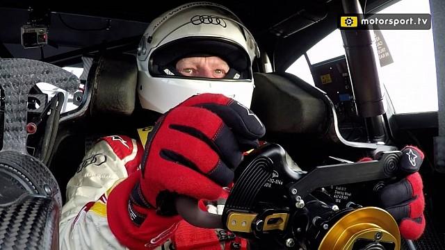 DTM Video: Tracktest im DTM-Audi von Rene Rast
