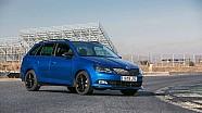 Prueba del Škoda Fabia Monte Carlo, inspirado en el Mundial de Rallies
