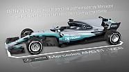 Las mejoras de Petronas en el Mercedes W08 Hybrid