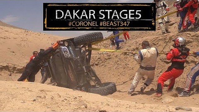 Dakar: Crash, Coronel