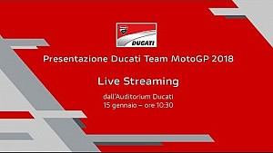 Presentazione Ducati MotoGP 2018