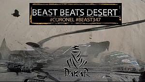 La bestia de los Coronel vence al desierto, Dakar 2018