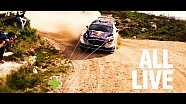 All stages - All live! FIA World Rally Championship 2018