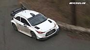 Thierry Neuville en essais pour le Rallye Monte-Carlo