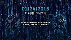 Презентация Movistar Yamaha MotoGP Team 2018 года