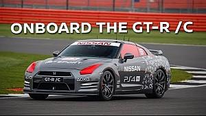 Dentro del GT-R / C: vuelta completa a bordo en un GT-R controlado a distancia