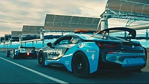BMW drivers Blast Racing cars around Atlas mountains | Qualcomm safety car launch
