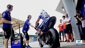La vidéo de fin des essais de Sepang de Yamaha